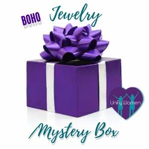 Mystery Reseller Boho Jewelry Box.  26 pieces! NEW